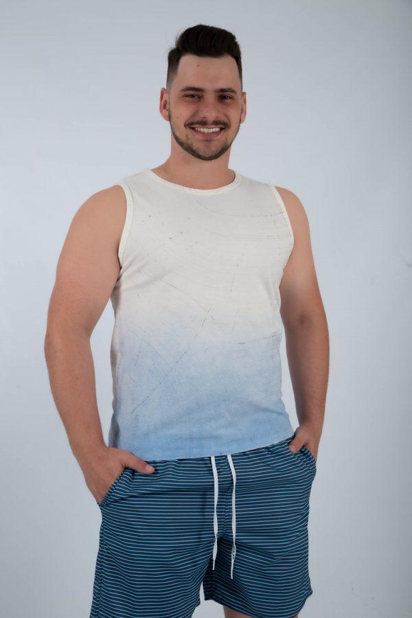 camiseta regata traços zatom off