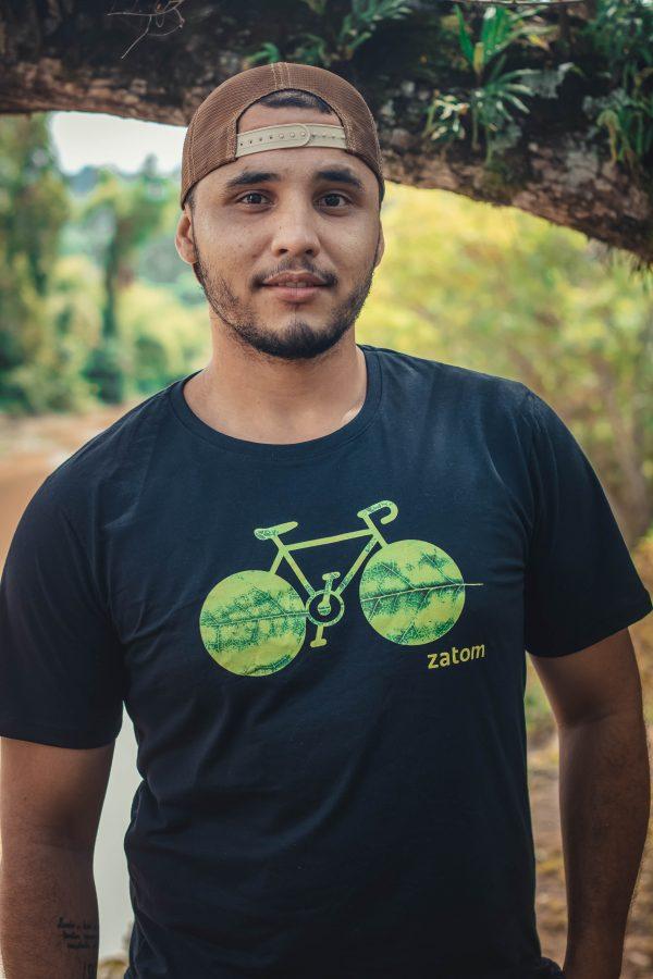 Camiseta Bicicleta pra quem ama a liberdade de pedalar
