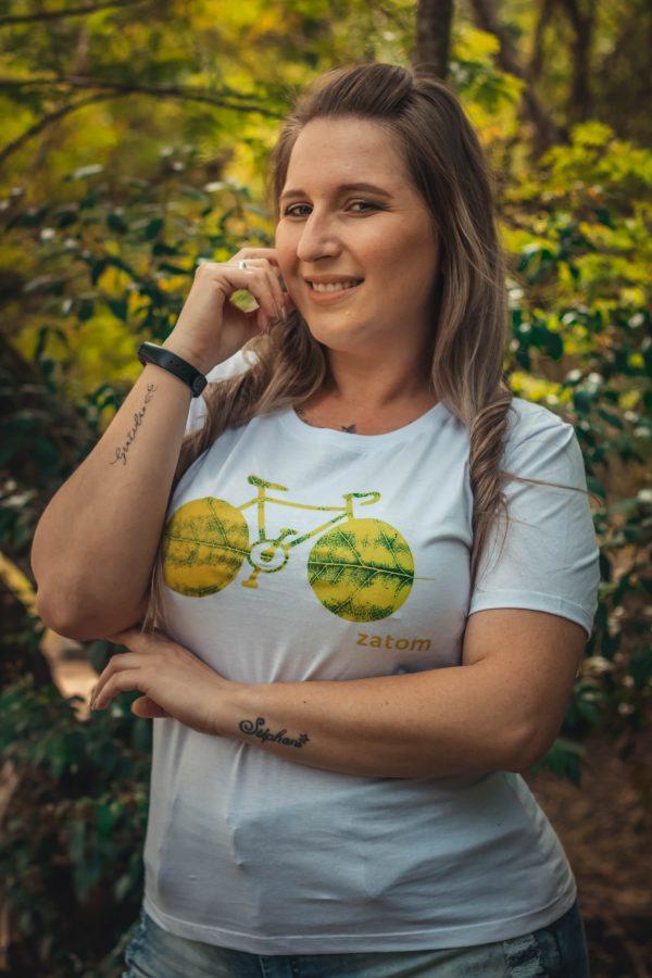 Camiseta Bike feminina