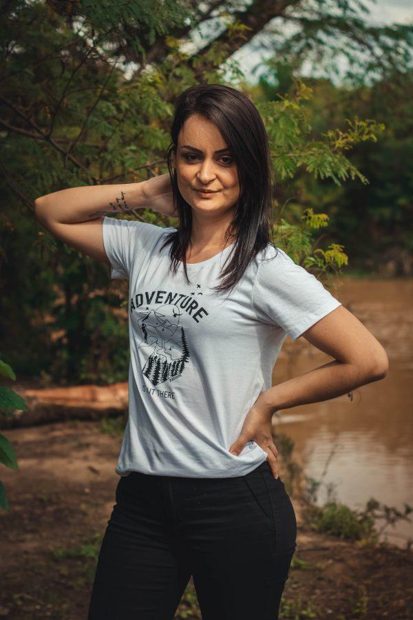 Camiseta Aventura pra quem ama a liberdade
