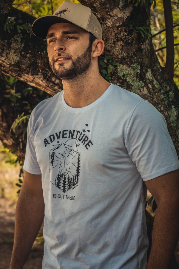 camiseta aventura para curitir a liberdade