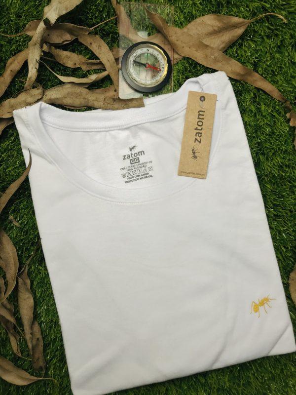 camiseta formiga dourada