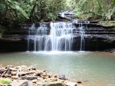 Cascata Spredmann, no vale das Cachoeiras